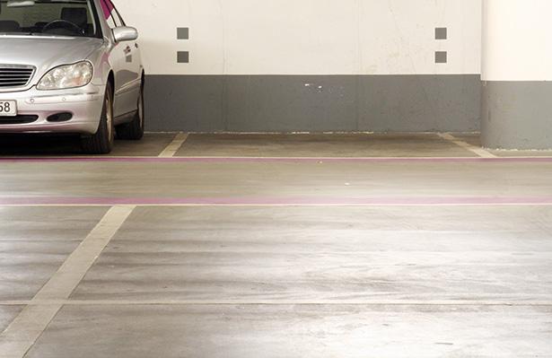 Parkplätze der Niliusklinik in Dortmund